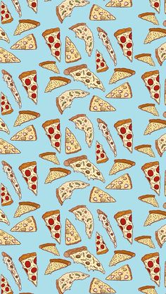 pizza wallpaper pattern.