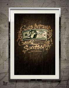 Hard Cash — Original Art by David Xin by JokerWorkshop on Etsy