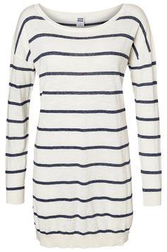Everly oversize blouse, 12,95 €. Raidallinen puuvillaneule kolmessa eri värissä. Norm. 19,95 €. VERO MODA, 1. KRS