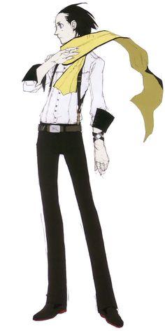 Ryoji Mochizuki - Characters & Art - Shin Megami Tensei: Persona 3