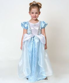 Light Blue Princess Dress - Girls