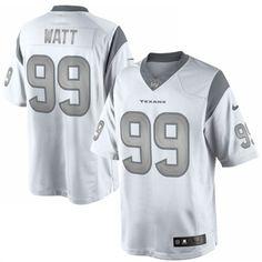NFL Jersey's Men's Houston Texans J.J. Watt Nike Navy Color Rush Limited Jersey
