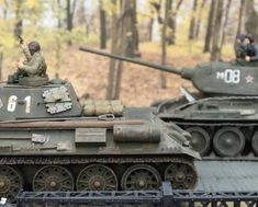 Scale Models, Military Vehicles