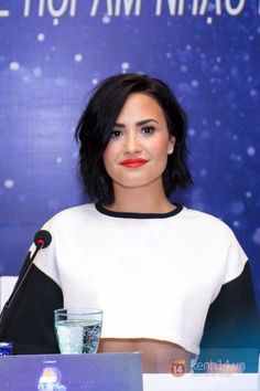 Demi Lovato at the YAN Beatfest press conference Vietnam - May 8th