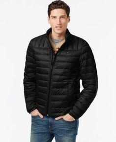 Tommy Hilfiger Nylon Packable Jacket - Black XXL