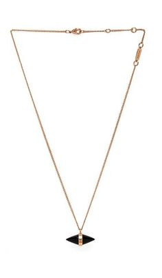 Vita Fede Tiki Necklace in Rosegold & Onyx from REVOLVEcloth, How would you style this? http://keep.com/vita-fede-tiki-necklace-in-rosegold-and-onyx-from-revolvecloth-by-chelsea21/k/05U071gBNb/