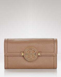 Tory Burch Wallet - Amanda Checkbook - Wallets & Wristlets - Small Accessories - Handbags - Bloomingdale's
