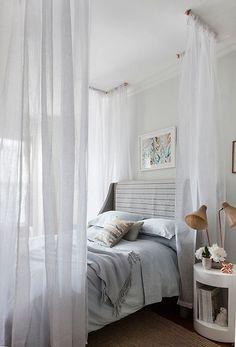 Crear dormitorios de ensueño con cortinas 3