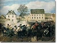 The Battles of Lexington and Concord were the battles in the first part of the Revolutionary War. Lexington was the location of the first gunshot of the Revolutionary War.