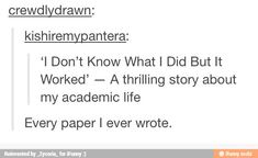 this is a definition of an honors student. Tumblr i dont know what i did but it worked