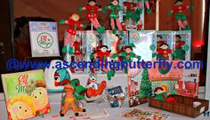 Elf Magic display at Blogger Bash Sweet Suite 2014 NYC Blogging Conference - http://www.ascendingbutterfly.com/2014/08/to-bloggerbashnyc-with-love.html