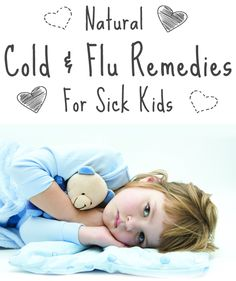 The American Academy of Pediatrics has warned that the side effects of over-the-counter cough and cold medications can be harmful to infants and small children. Try these gentle, effective, and safe home remedies to soothe your child& cold and flu s Cough Remedies, Health Remedies, Home Remedies, Holistic Remedies, Sick Baby, Sick Kids, Sick Toddler, Baby Health, Kids Health