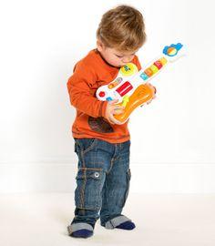 Buzzing Brains Little Rock Star Guitar | Kiddicare