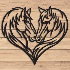 Wood Burning Stencils, Wood Burning Crafts, Wood Burning Patterns, Wood Burning Art, Metal Art, Wood Art, Tattoo Grafik, Horse Stencil, Horse Silhouette