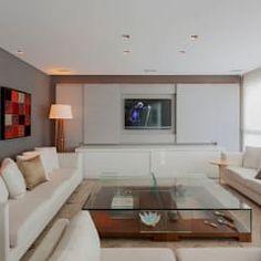 Móvel Home Theater: Salas de estar modernas por Escritório de Design Edwiges Cavalieri