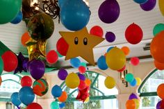 so cute! Stars for the ceiling!