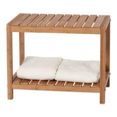 Creative Bath EcoStyles Bamboo Spa Bench - BedBathandBeyond.com $69.99
