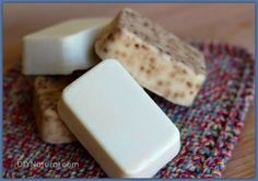 Haven't read this thoroughly yet but it looks good, so pinning. How To Make Soap - Homemade Natural Bar Soap Instructions -- DIY Natural