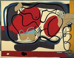 Le Corbusier painting