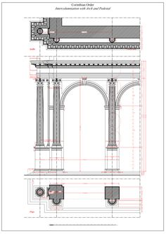 Architectural Drawing Window doors, arcades, windows, architectural drawing vignola, steel