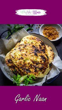 Veg Recipes, Spicy Recipes, Curry Recipes, Indian Food Recipes, Cooking Recipes, Garlic Naan, Paratha Recipes, Vegetarian Snacks, Food Videos