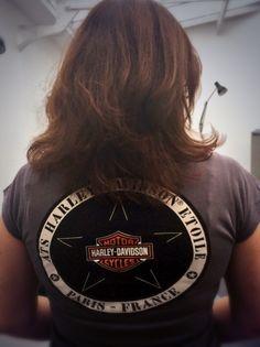 Harley Day ! #chromeandroses #harleydavidson #paris