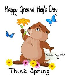 Image result for groundhog day image spring is coming