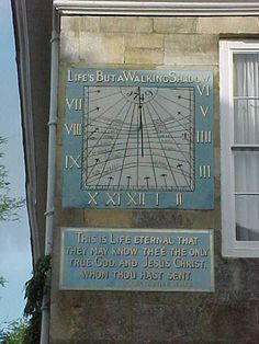 Sundial, Cathedral Close, Salisbury Cathedral, Wiltshire, England (1749) Salisbury England, Salisbury Wiltshire, Salisbury Cathedral, As Time Goes By, Cathedral Church, Art Sites, Wooden Clock, Sundial, England And Scotland