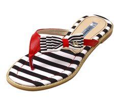 Black Marin Flip-flops - Way cute