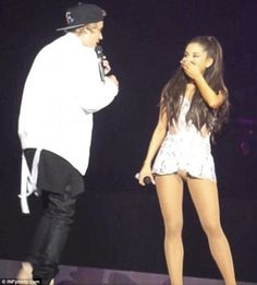 Justin Bieber Hah BIG Surprise For Ariana Grande During Her Concert!