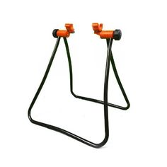 IBERA Easy Utility Bicycle Stand IB-ST2 by IBERA. $19.99. ?Foldable for easy carriage or stowage. ?3-way micro-adjustment. ?Adjustable height. ?Durable steel construction. ?Suitable for most bikes. This economical, easy-to-use stand holds a bike steady with the rear wheel off the ground. Great for the home mechanic - for adjusting drive train or brakes, cleaning and other jobs. Ideal too for parking or storing your bike. And if you are a bike professional, use i...