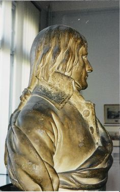 Napoléon Bonaparte, French  consul, 1802, sculpture by Charles Louis Corbet (1758-1808). Musée Massena, Nice. Photo: Lillemor Brink