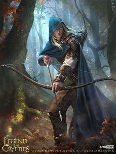 Prince of the elves, arc noir on ArtStation at https://www.artstation.com/artwork/vEkAY