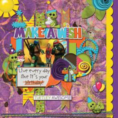 Layout using {Let's Shell-ebrate} Digital Scrapbook Kit by BoomersGirl Designs http://store.gingerscraps.net/BoomersGirl-Designs/ and {A Little Cheeky} Digital Scrapbook Template by Little Rad Trio http://store.gingerscraps.net/A-Little-Cheeky-Templates.html