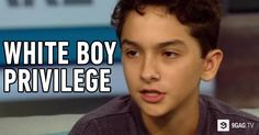 "8th Grader Boy Performs Poem About ""White Boy Privilege"" That Goes Viral - 9GAG.tv"