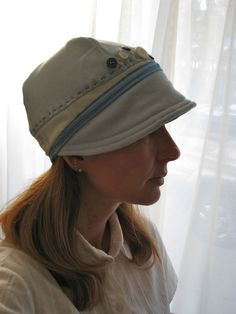 DIY hat from recycled T-shirt. Fine Fettle Frets: DIY Sewing projects: repurpose, recycle, repair, upcycle
