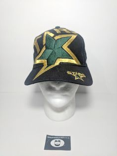 87f8c245eaf vintage the game Dallas Stars snapback Big Logo hat cap NHL hockey star 90s   TheGame