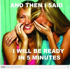 Alyssa does this to me regularly...