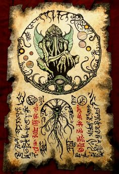 Rlyeh Incantations by MrZarono.deviantart.com on @DeviantArt
