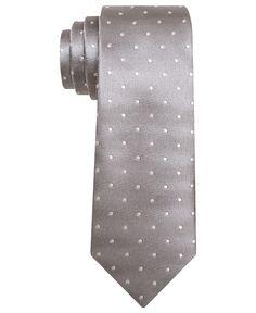 Bar III Tie, Dot Skinny Tie - Mens Ties - Macy's