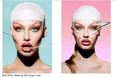 plastic surgery fashion editorials - Google Search