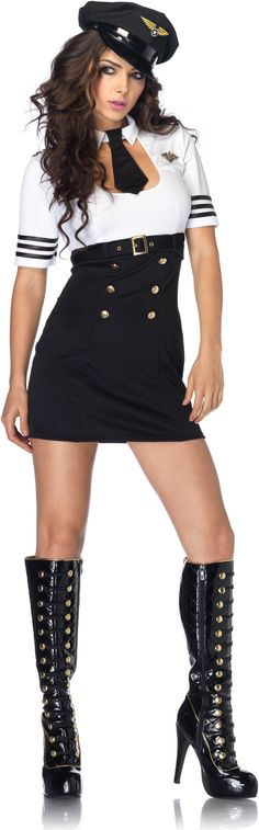 First Class Captain Adult Costume,$54.99