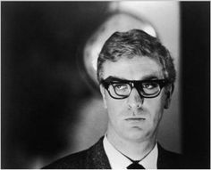 Michael Caine, looking particularly Ira Glass-y (to my great delight) as secret agent Harry Palmer in 'The Ipcress File', 1965