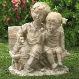 Personalized Gifts, Gifts for Kids, Holiday Decor Garden Statues, Garden Sculpture, Lillian Vernon, Outdoor Furniture, Outdoor Decor, Gifts For Kids, Personalized Gifts, Bench, Holiday Decor