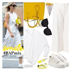 """""""Primrose Hints"""" by bagsaporter ❤ liked on Polyvore featuring Prada, Filling Pieces, TIBI, Delalle, Urbanears and Rodin Olio Lusso"""