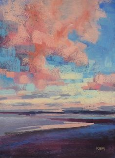 Painting my World: Which is Better White or Belgian Mist Wallis Pastel Paper? Pastel Paper, Pastel Art, Pastel Paintings, Pastel Drawing, Oil Pastel Landscape, Landscape Paintings, Landscapes, Pastel Clouds, You Draw