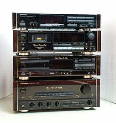 Pioneer A-91D, PD-91, CT-91a, F-91(1988)