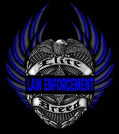 Elite Breed Law Enforcement Eagle TShirt Size Size by RescueTees
