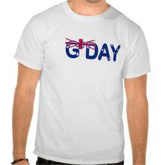 GDay Australian Flag T-shirt #straya