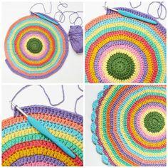 my world of wool: #crochet mandala made in honor of Wink